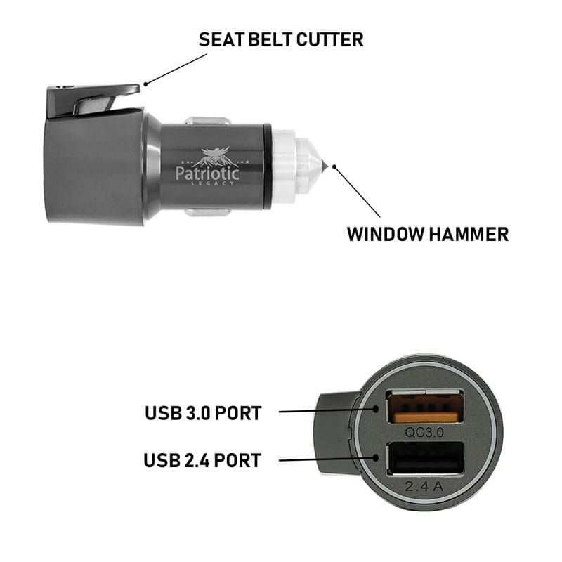 Car charger features